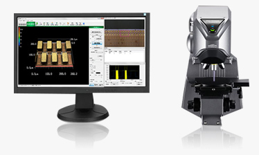 Laser scanning microscope for non-contact surface roughness/shape measurements